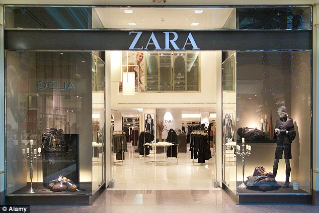 Ortega has turned Zara (file picture) into a byword in chic for the money-conscious, transforming the apparel business with its 'fast fashion' model