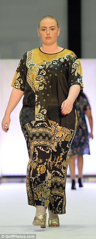 Ready for the runway: The Curve Fashion Festival is the UK's largest Plus Size Event for women over size 14