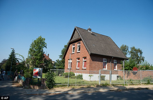 View of a house which is being used as accommodation for refugees, pictured in Reinfeld.Three Syrians have been arrested in anti-terrorism raids on Tuesday morning in the German states of Schleswig-Holstein and Lower Saxony