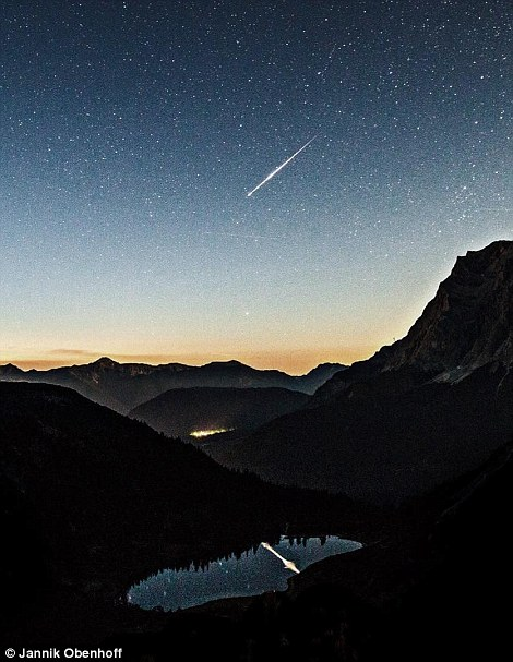 A rare shooting star