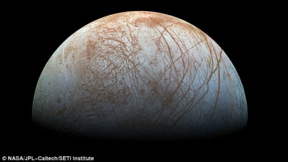 Jupiter's sixth-closest moon Europa is one of the most interesting bodies in our solar system when it comes to the hunt for extra terrestrial life. Now Nasa has released a cryptic message saying 'surprising' evidence about the moon will be announced on Monday