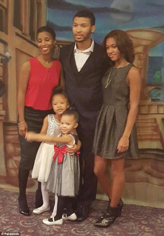 Green allegedly attacked his wife Faith Green before killing Chadney Allen, 19, Kara Allen, 17, Koi Green, 5, and four-year-old Kaleigh Green (all pictured here)