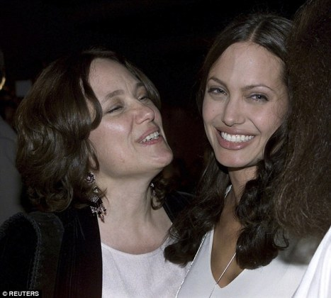 Angelina Jolie s estranged relative gives rare glimpse into star s     Gone too soon  Angelina was close to her mother Marcheline  who died in 2007