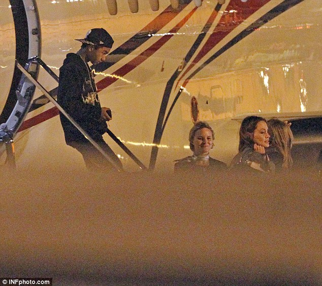 Divorce: TMZ reports that the alleged episode, last Wednesday, prompted Angelina Jolie (Maddox pictured disembarking a plane in 2014) to split from the 52-year-old the next day
