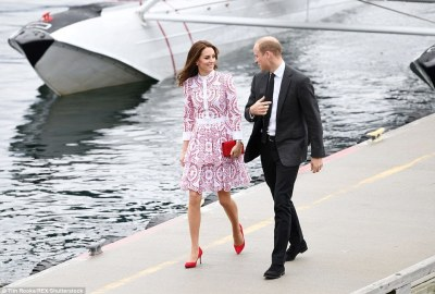 Kate looked every inch the glamorous young royal as she stepped out in the £4,000 Alexander McQueen dress
