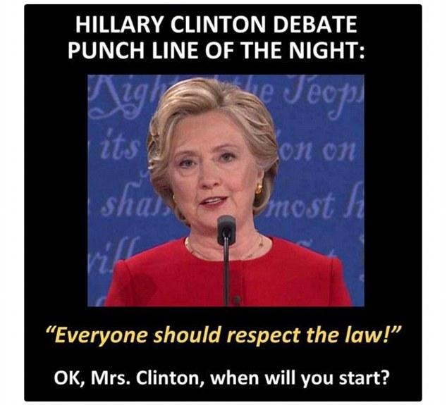 2016 Presidential Debate In Memes As Donald Trump Is