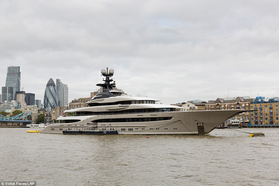 Rare Superyacht Owned By Billionaire Fulham FC Chairman