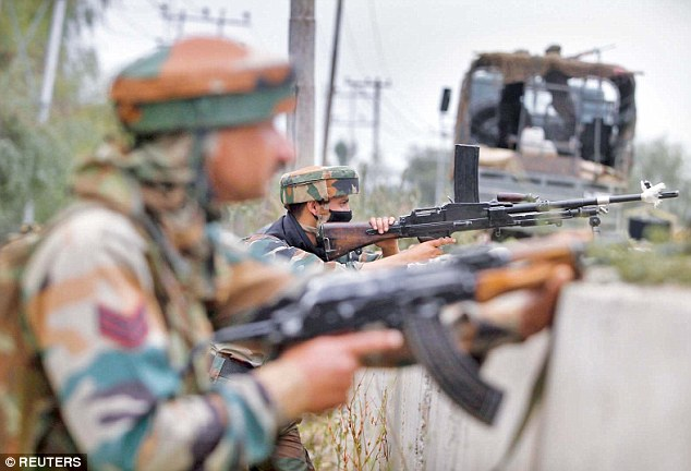 India has a large military presence in Kashmir, which has a Muslim majority. Many Kashmiris want to be independent or part of Pakistan