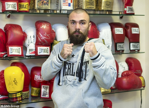 The fighter's manager Tommy Gilmour said Towell had suffered a 'serious injury' and is breathing via the use of a ventilator in hospital with his family by his bedside. Sadly, he passed away