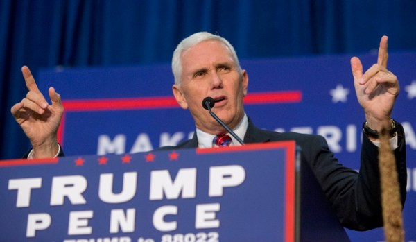 The Latest: Pence says too much made of Trump's tweets ...