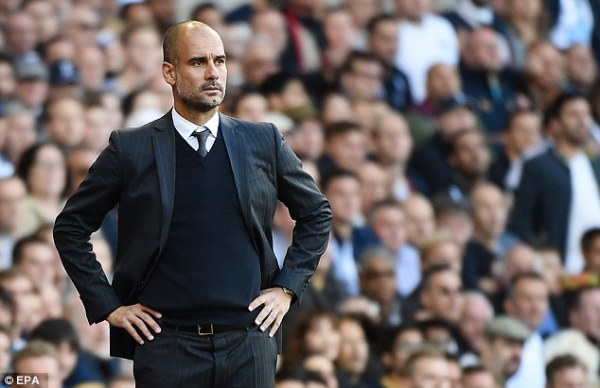 Pep Guardiola admits Tottenham were 'one step in front' as ...