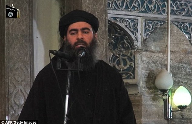 ISIS ringleader Abu Bakr al-Baghdadi is reportedly seriously ill after having his food poisoned