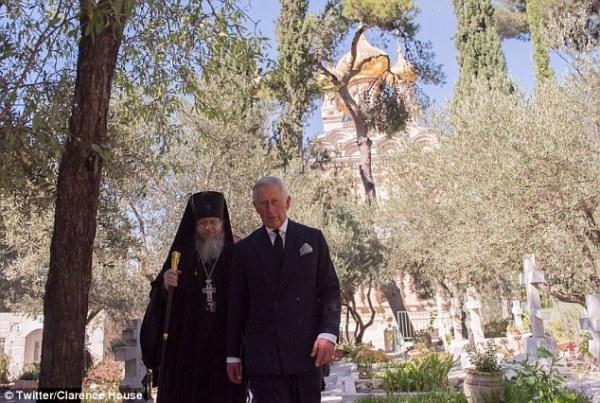 Prince Charles makes visit to Princess Alice of Greece's ...
