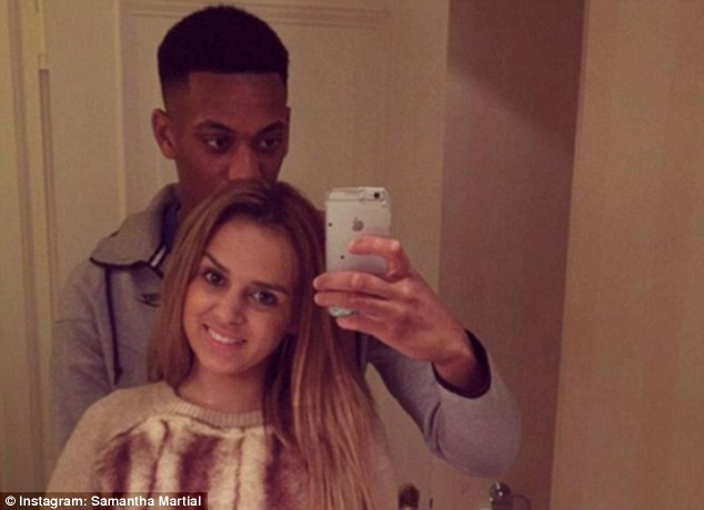 Martial and Jacquelinet parted ways following allegations he had been unfaithful
