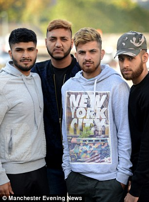 They say they were 'treated unfairly' and feel they were reported to the police because they are 'bearded Asians'