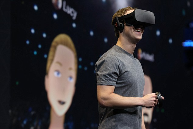 'One of the things that [VR] will unlock is the ability to live anywhere you want and be present in another place and really feel like you are there,' the CEO said. 'It is going to unlock a lot of economic opportunity because people will be able to live where they want and increasingly work where they want and kind of teleport into place
