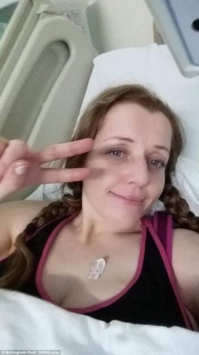 Her family and friends are now frantically trying to raise money to fund treatment in the US