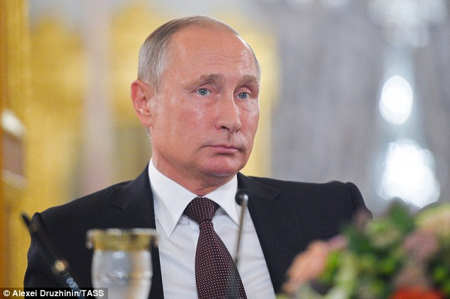 Politicians and high-ranking figures are said to have received a warning from president Vladimir Putin (pictured) to bring their loved-ones home to the 'Fatherland', according to local media