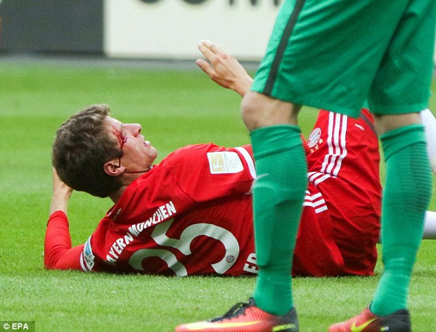 The Bayern player is likely to be more hurt by his team's inability to hold a lead