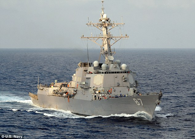 The USS Mason, a Navy destroyer, has been targeted three times in the past week by rebel controlled areas of Yemen