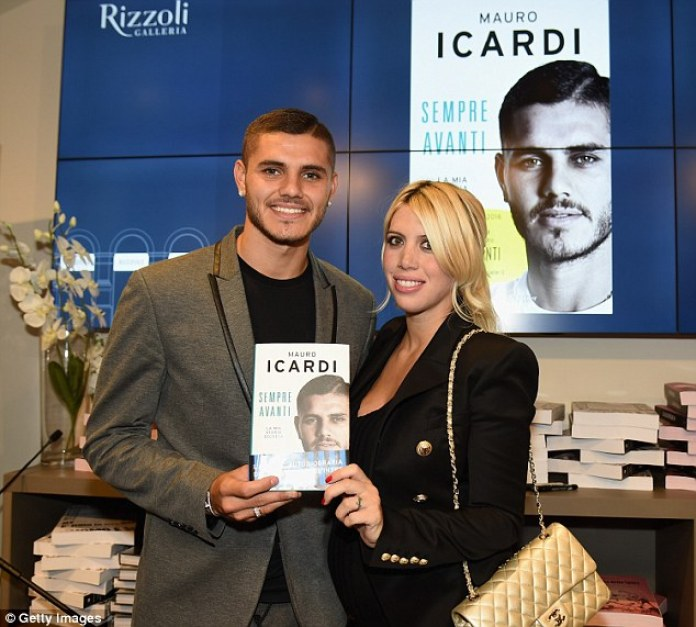 Image result for Icardi and wife