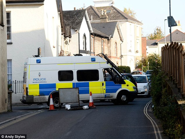 Counter-terrorism officers investigating a London Tube bomb plot have found a 'suspicious device' in Devon