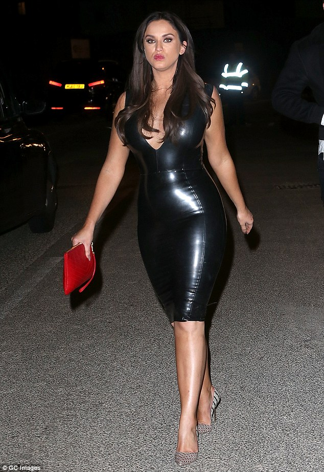 Vicky Pattison Puts On A VERY Busty Display In Dominatrix