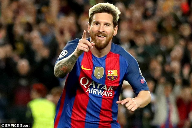 Barcelona star Lionel Messi, unsurprisingly, also claimed an award at the ceremony