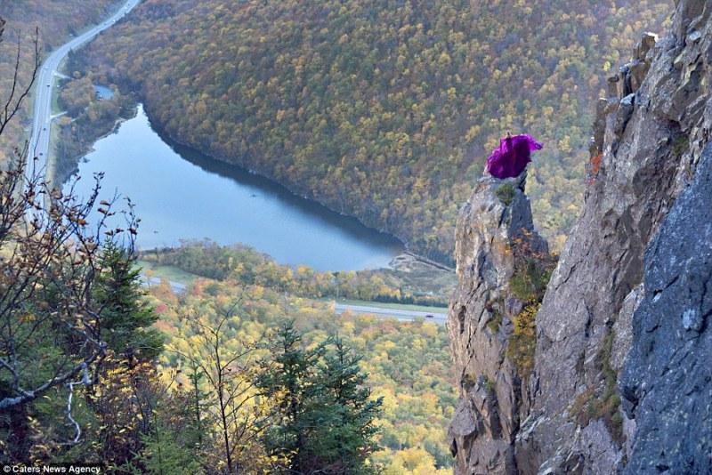 Fotografias impressionantes que são marcadas pelas folhas outonais e pela água (FOTO: REPRODUÇÃO/JAY PHILBRICK)