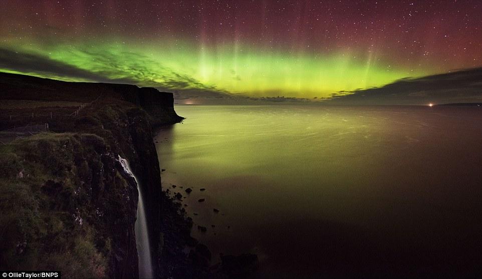 Uk Northern Lights Tonight
