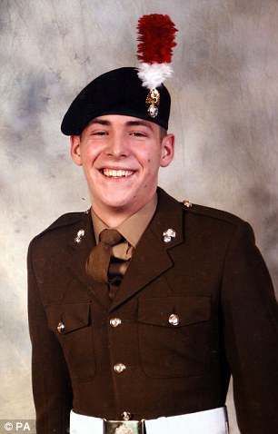 Danny Cornelius was found dead in the garden of his grandparent's home in Gravesend, Kent in July after suffering years of torment after witnessing the horrific murder of Fusilier Lee Rigby (pictured)