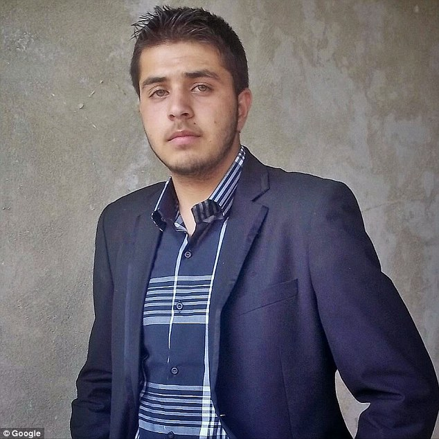 Haris Stanikzai, pictured on his Google+ account, told UK authorities that he was 16 when he was evacuated from the Jungle camp in Calais, although social media accounts claim he is 22