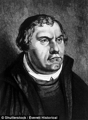 Martin Luther, a German, started the Protestant Reformation in 1517