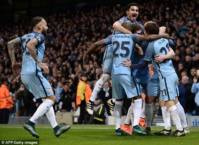 Manchester City secured a famous 3-1 Champions League win over Barcelona on Tuesday
