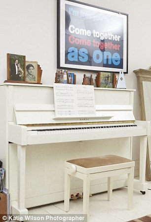 Tanith charges £25 a day for people to be able to see the piano