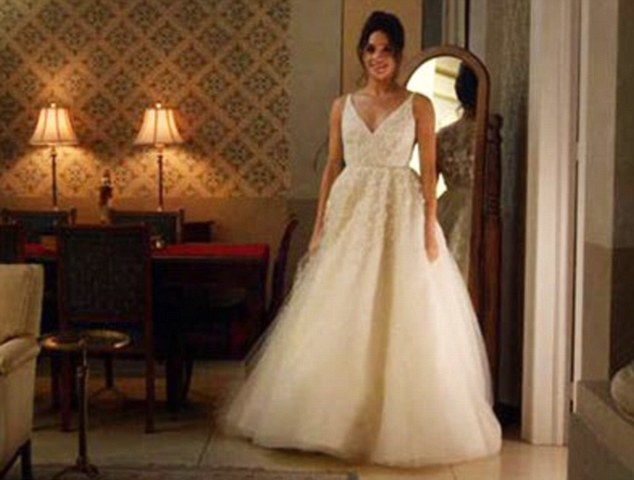 Price Harrys Girlfriend Meghan Markle In Wedding Dress
