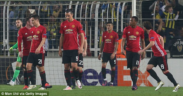 It was a poor game all round for United as they lost 2-1 to Fenerbahce in Turkey