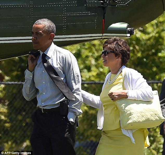 Senior adviser Valerie Jarrett has convinced President Obama to remove James Comey from his job as director of the FBI