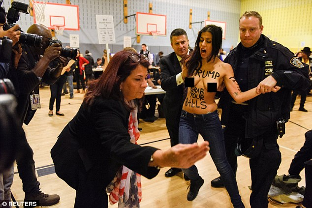 The pair, who are believed to be in their mid-twenties, were members of feminist activist group FEMEN