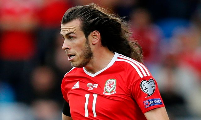 gareth bale's barnet got stick he looked like tarzan