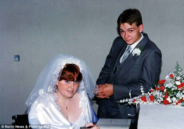 The couple, of County Durham, married in 1987, pictured, when Stephanie was Stephen