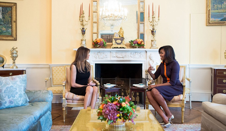First Lady Michelle Obama's meeting with Melania Trump kept behind closed doors