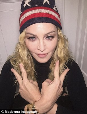 The wave of celebrity U-turns was led by Madonna who abandoned a promise to perform sex acts on men who voted for Clinton before the polls even opened