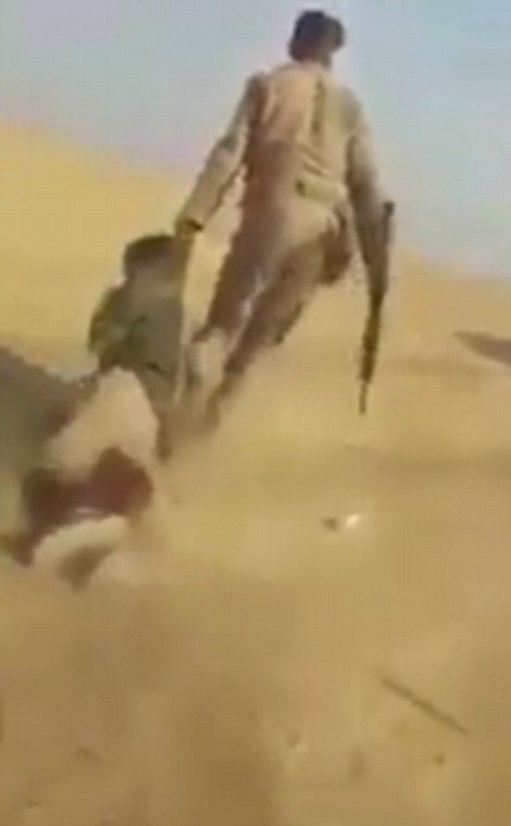 Monsters Of Mosul Gruesome Moment Iraqi Forces Throw