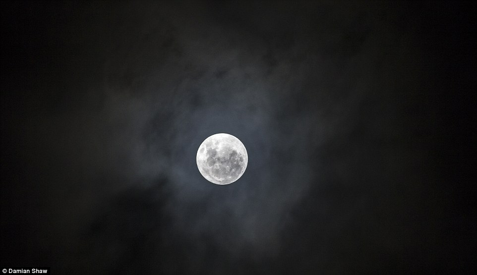 The moon is at its biggest and brightest because it will be 30,000km closer to earth than normal