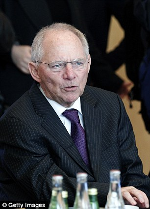 Wolfgang Schauble is a key ally of German Chancellor Angela Merkel