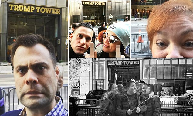 Making America Smile Again: Trump Tower becomes the hottest selfie spot in New York City