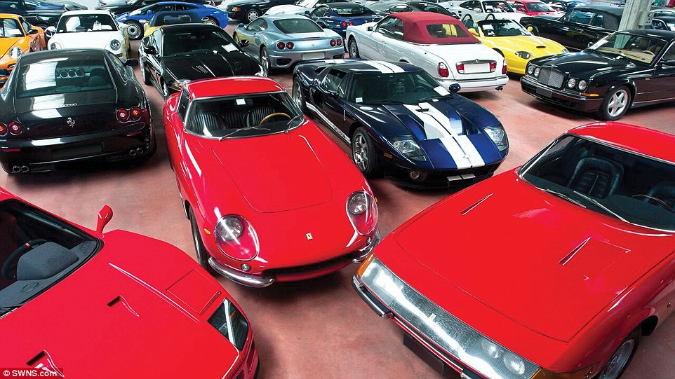 Staff at the high-end auction house had a titanic task preparing for the sale, filling 11 warehouses full of cars, motorcycles, boats, bicycles and automobilia