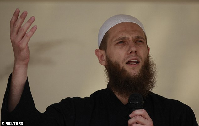Islamist preacher Sven Lau led the ultra-conservative group, which wore orange vests wearing the words Sharia Police