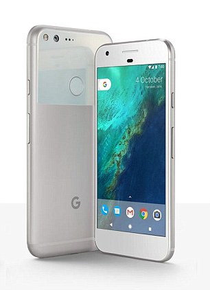 A new study has found people who buy Android phones are more honest and humble than those who pick iPhones. Pictured is the Google Pixel and Pixel XL